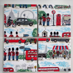 4 Ceramic Coasters in Cath Kidston London Streets